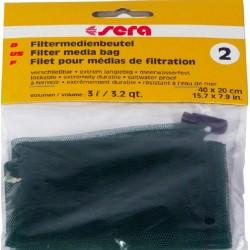 Sera Filter Media Bag 2 Sacchetto per materiali filtranti Acquario