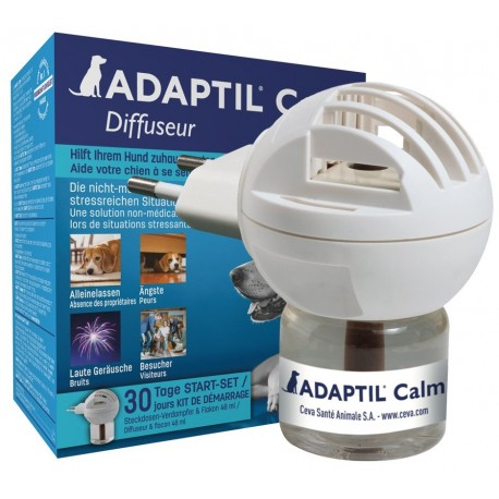 Adaptil Calm Home Diffusore e ricarica 48 ml per Cani