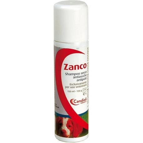 Zanco Shampoo secco antizecche antipulci 150 ml per Cane