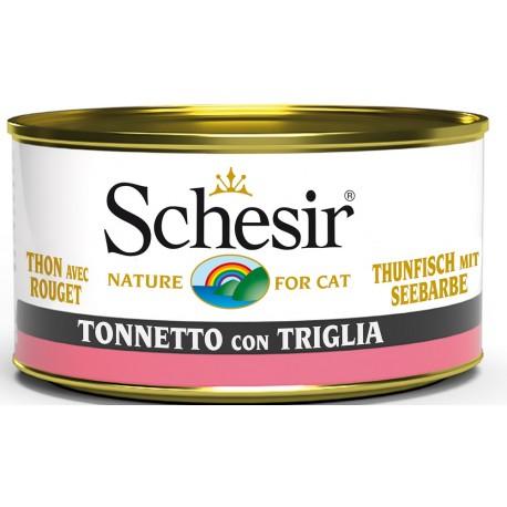 Schesir Cat Tonnetto con Triglia 85gr Alimento Umido per Gatti