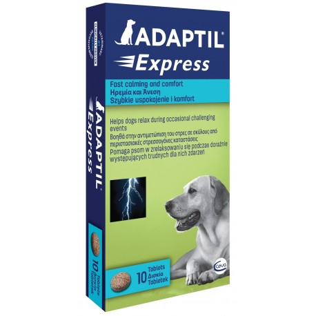Adaptil Express 10 Compresse Anti Stress per Cane