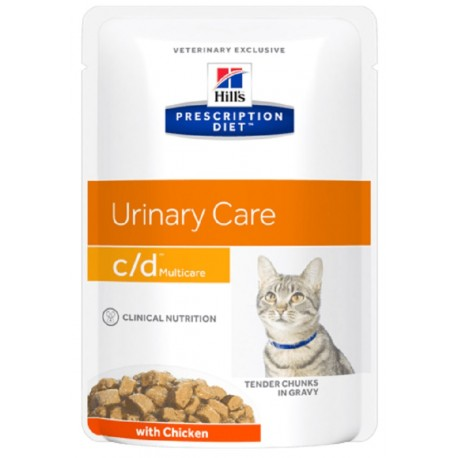 Hill's C/D Urinary Care Multicare 85 gr al Pollo per Gatto