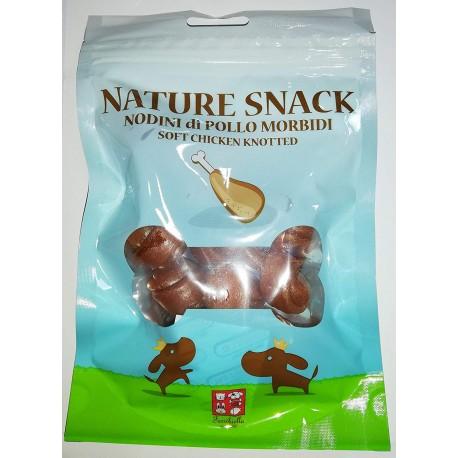 Nature Snack Nodini di Pollo Morbidi 80 gr Snack per Cane cod.GTT012
