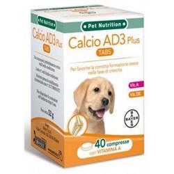 Bayer Calcio AD3 Plus 40 compresse per Cucciolo Cane