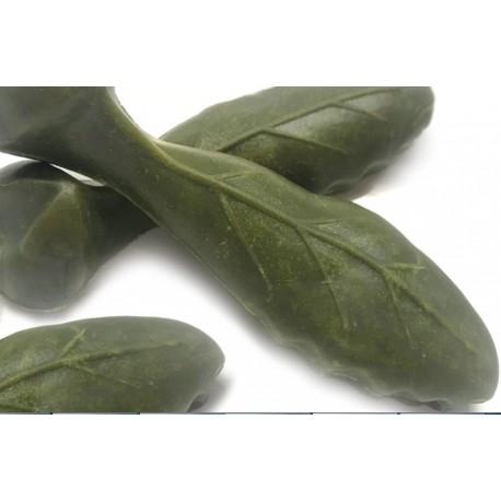 Foglia Large 3 Snack Vegetale con Clorofilla per pulizia denti Cane