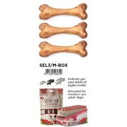 Ferribiella Selvatico Medio 3 Ossi Vegetali Ricoperto di Carne con Cervo e Rosmarino