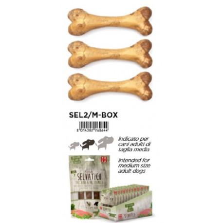 Ferribiella Selvatico Medio 3 Ossi Vegetali Ricoperto di Carne con Tacchino e Prezzemolo