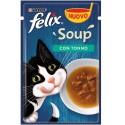 Felix Soup 48 gr Con Tonno Cibo Umido in Zuppa per Gatti