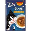 Felix Soup 48 gr Con Pollo Cibo Umido in Zuppa per Gatti