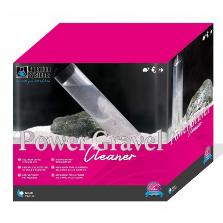 Aquarium System Power Gravel Cleaner Aspirarifiuti per acquario
