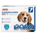 Beaphar Caniguard Duo Antiparassitario 4 fiale per Cani di Taglia Media 10-20 Kg