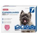 Beaphar Caniguard Duo Antiparassitario 4 fiale per Cani di Taglia Piccola 4-10 Kg