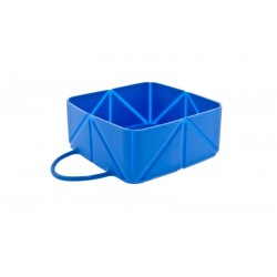 Silicone Bowl Ciotola Pieghevole in silicone per Cane o Gatto 12 x 12 x 5 cm