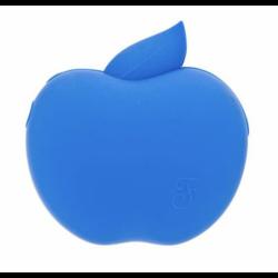 Apple Mela Porta Sacchetti in Silicone con Rotolo colore Blu