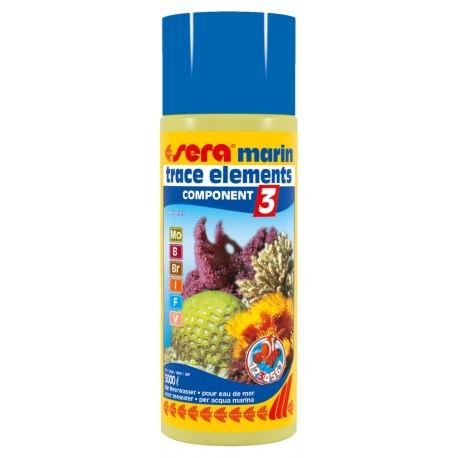 Sera Marin Component 3 Trace Elements Anionics 500 ml per Acquario Marino