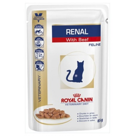 Royal Canin Renal with Beef Manzo 85 gr per Gatto