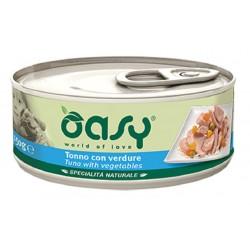 Oasy Wet Dog Tonno con Verdure Lattina 150 gr Cibo per Cane