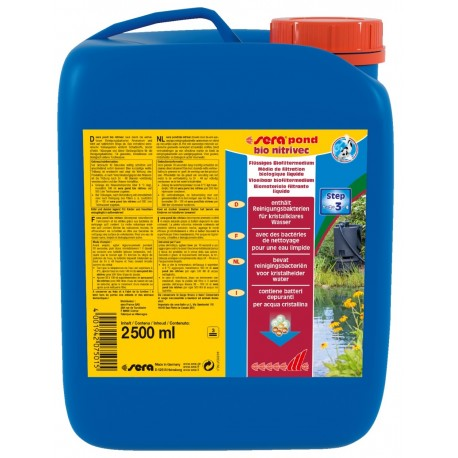Sera Pond Nitrivec 2500 ml per 12.500 lt attivatore biologico per Laghetto
