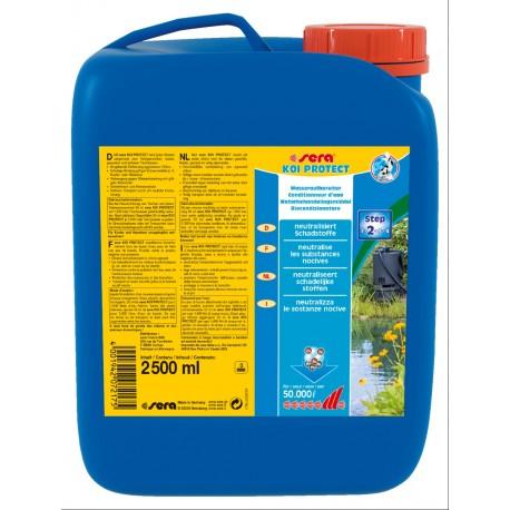 Sera Koi Protect 2500 ml per 50.000 lt Biocondizionatore per Laghetto