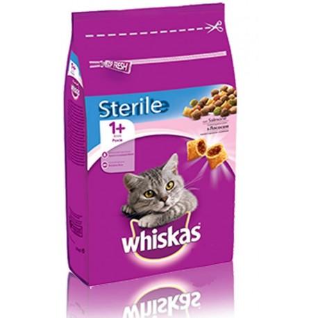 Whiskas 1+ Sterile con Salmone 1.4 kg per Gatto