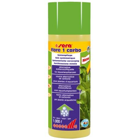 Sera Flore 1 Carbo 250 ml Fertilizzante a carbonio per piante acquario