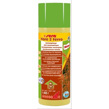 Sera Flore 2 Ferro 250 ml Fertilizzante per piante acquario