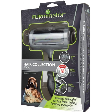 Furminator Hair Collection Tool Spazzola Rullo Rimuovi Pelo da Indumenti