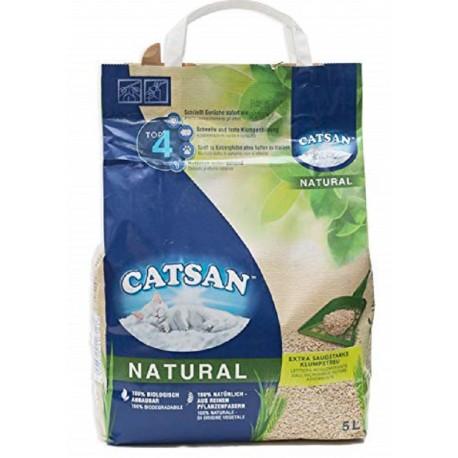 Lettiera Catsan Natural 5 litri per Gatti