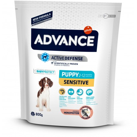 Affinity Advance Puppy Sensitive 800 gr Con Salmone per Cuccioli