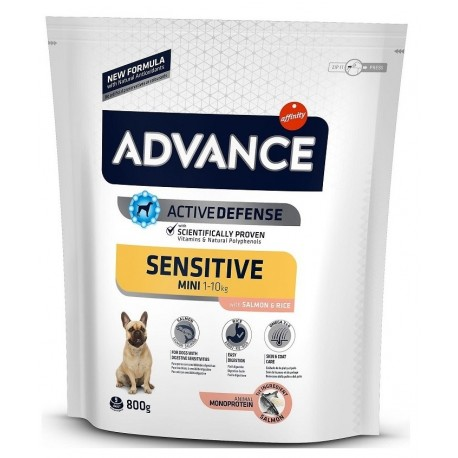 Affinity Advance Sensitive Mini 1-10Kg Con Salmone per Cani