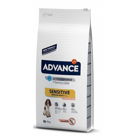 Affinity Advance Sensitive Medium Maxi Con Salmone per Cani 12Kg