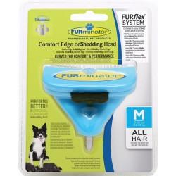 Furminator Testa Spazzola Furflex System Cane Medio All HAIR