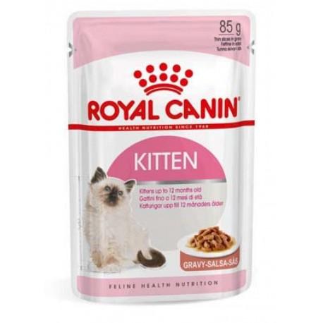 Royal Canin Kitten Gravy 85 gr Bustina Umido per Gattino