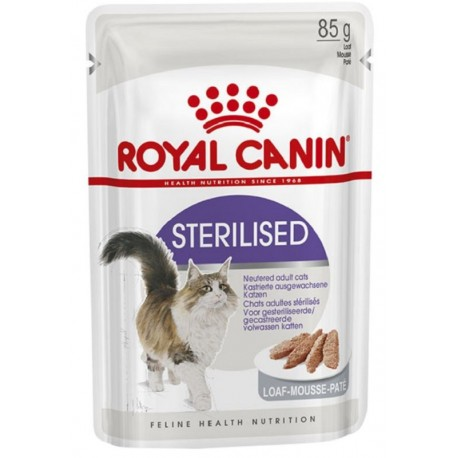 Royal Canin Sterilised Patè in Busta 85 gr per Gatto