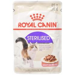 Royal Canin Sterilised Gravy Fettine in Salsa in Busta 85 gr per Gatto