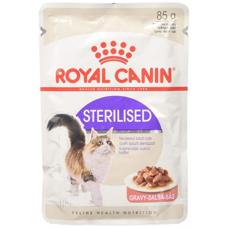 Royal Canin Sterilised Gravy Fettine in Salsa in Busta 85 gr per Gatto