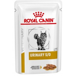 Royal Canin Urinary S/O Fettine in Salsa 85 gr Bustina di Umido per Gatti