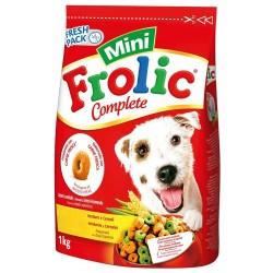 Frolic Mini Complete con Pollame 1 Kg Crocchette Morbide per Cani