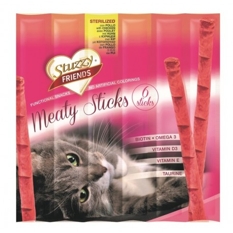 Stuzzy Friends Meaty Sticks Sterilised con Pollo 30gr