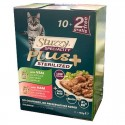 Stuzzy Speciality Plus Sterilised Vitello Prosciutto Multipack 12 bustine x 100 gr