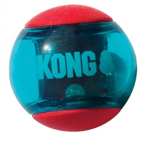 Kong Action Squeezz Ball Media Gioco per Cane Conf. 3 palle PSA23E