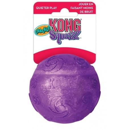 Kong Crackle Squeezz Ball Large Palla Colori Assortiti PCB1E