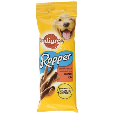 Pedigree Rodeo Ropper Manzo 4 Strisce 70 gr Snack per Cane