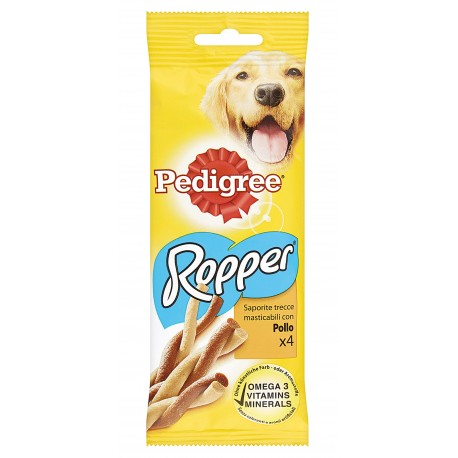 Pedigree Ropper Pollo 4 Strisce 70 gr Snack per Cane