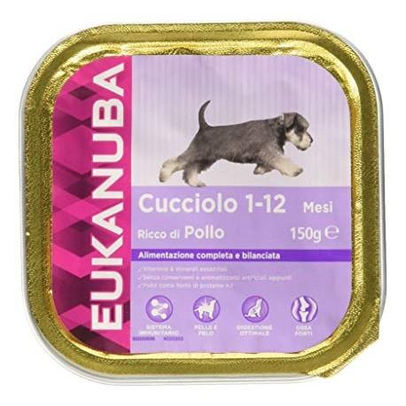 Eukanuba 150 gr Cucciolo con Pollo Alimento Completo per Cani