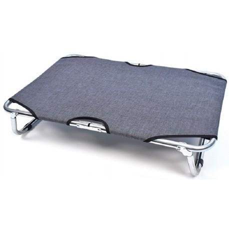 Brandina Impermeabile grigia pieghevole in alluminio 75 x 115 cm