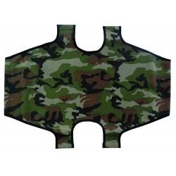 Leopet Telo di ricambio militare per brandina pieghevole per cani cm 80 x 50