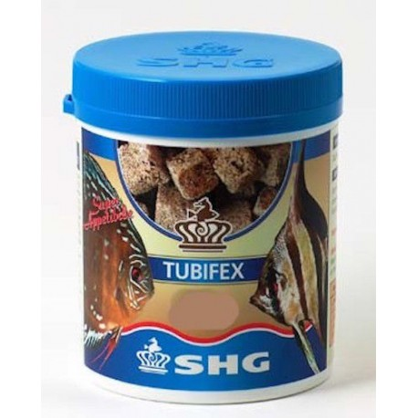 SHG Tubifex 10gr Mangime Liofilizzato per Pesci d'Acquario