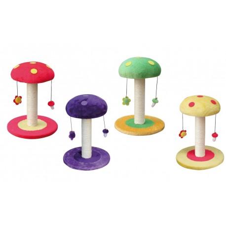 Tiragraffi assortito Mushroom Funghetto per Gatto 35 x 35 x 47 cm h