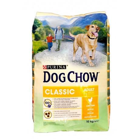 Purina Tonus Dog Chow con Pollo 10 kg per Cane